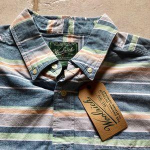 Woolrich Shirts - Woolrich Seaport Oxford Button Down Shirt